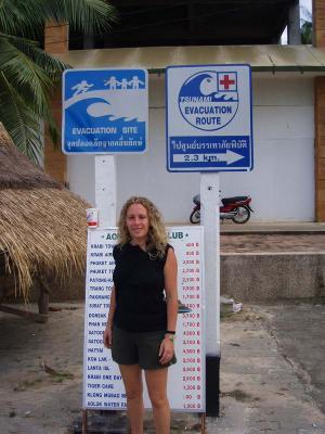 Esta zona fue castigada por el tsunami de diciembre de 2004