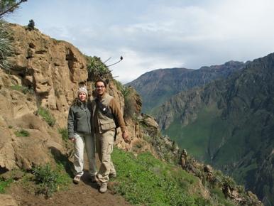 Valle del Colca, buscando al cóndor