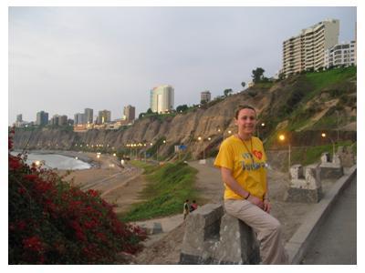 Miraflores desde la playa