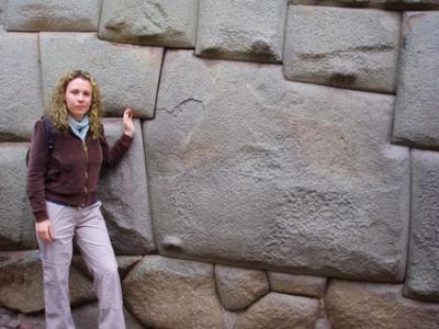 ¡No toquen la piedra!